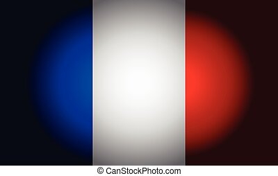 French black flag vector - French Black flag background...