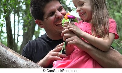 Divorced Father With Daughter