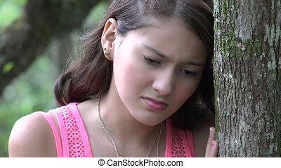 Upset And Frustrated Teen Girl