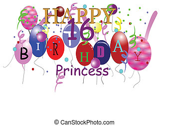 16th birthday greeting for girl - 16th birthday greeting for...