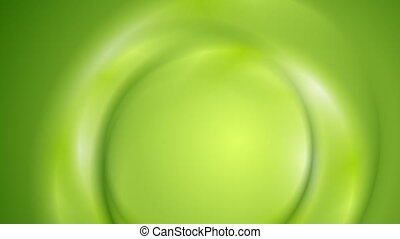 Smooth bright green wavy video animation - Smooth bright...