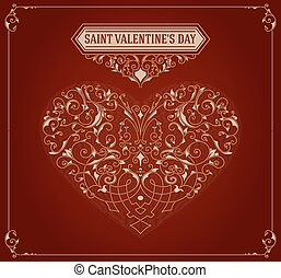 Saint valentine's day card