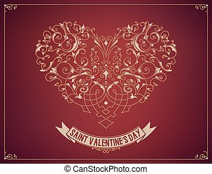 Saint valentine's day design