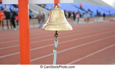 Athletics bell final round Competitions athletes at the...