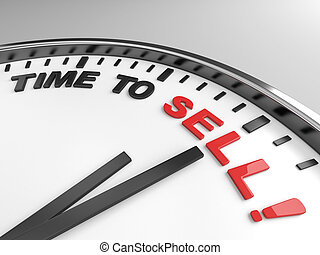 time to sell - Clock with words time to sell on its face