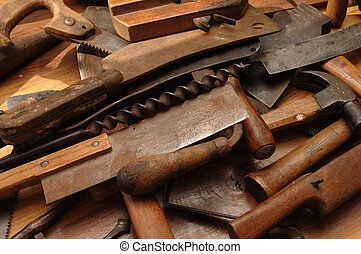 Old Tools - Antique wood working tools