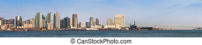 San Diego Bay - Downtown San Diego looking across the bay...