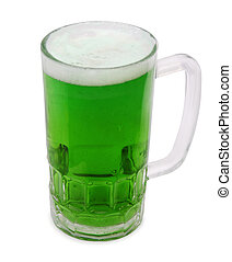 Lucky Brew - An Irish themed brew in a chilled glass mug...