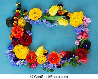 Flowers festive composition