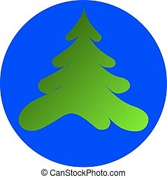 conifer, spruce, vector,silhouettes trees,