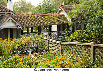 Cottage with garden - Traditional cottage with wild garden,...