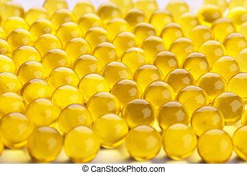 Oil Capsules Texture