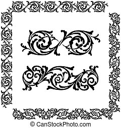 ornament - Classical decorative elements for you design