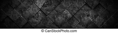 Extra Dark Background (Website Head) 3D Rendering - A 3D...