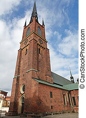 Riddarholmen Church - The Riddarholmen Church is the burial...