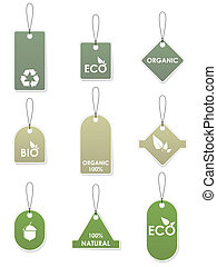 Eco recycling tags