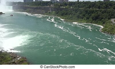 Niagara Falls and Niagara River
