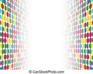 Background Dots Seamless Perspective