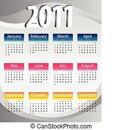 Calendar 3d 2011
