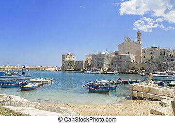 Giovinazzo touristic port Apulia
