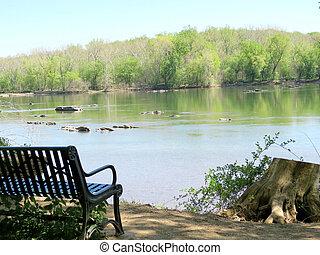 Potomac River April 2016 - The view of Potomac River near...