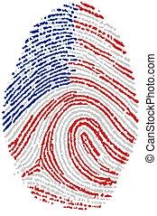 Fingerprint - Usa - My Fingerprint for American passport