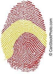 Fingerprint - Spain