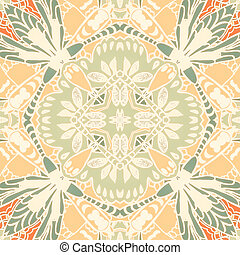 illustration seamless pattern background with different...