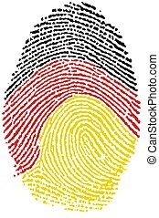 Fingerprint - German