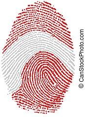 Fingerprint - Austria - My fingerprint for Austria