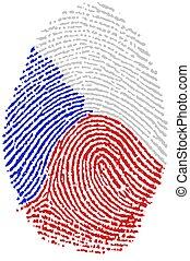 Fingerprint - Czech - My Fingerprint for czech citizen