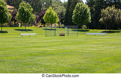 Grass Little League Baseball Field - Grass little league...