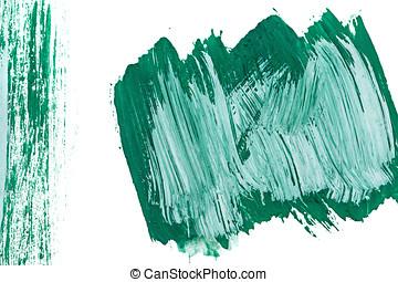 Emerald background gouache - Emerald green gouache Grunge...