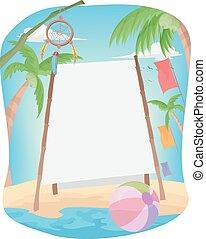 Summer Bamboo Banner