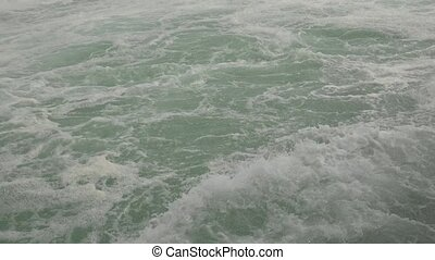 Water Rapids Waves and River Current