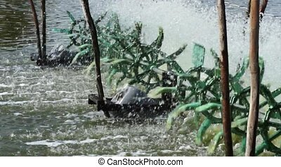 Simple Water Turbines Fishing Pond - Simple Water Turbines...