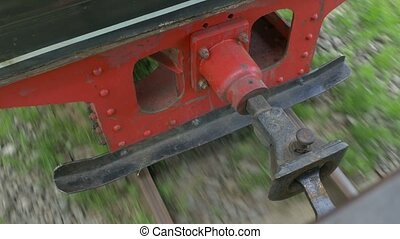 Narrow Gauge Railway - Narrow gauge railway and vintage cars...