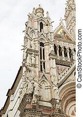 Siena Cathedral, Siena, Tuscany, italy - Gargoyles and...
