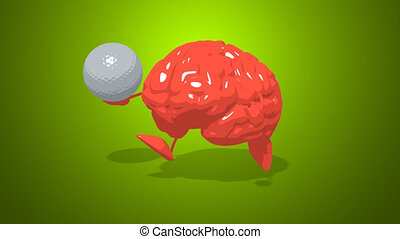 Computer animation - Fun brain