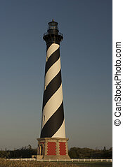 Hatteras lighthouse - Cape Hatteras lighthouse on the Outer...