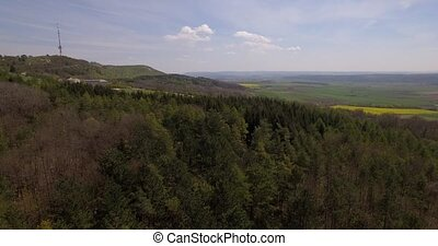 4K Aerial, Bavarian Landscapes, Germany - native footage,...