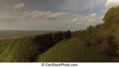 4K, Luftaufnahmen, bayerischer, Landschaften