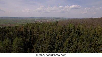 4K, Luftaufnahmen, bayerischer, Landschaften,