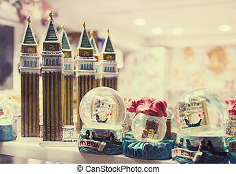 Souvenirs from Venice, Italy - Figurines of attractions and...