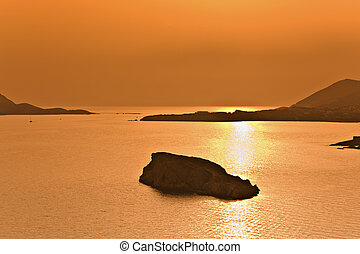 Cape sounio at Attica, Greece (Poseidon temple area)