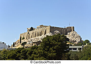 The Acropolis of Athens at Greece