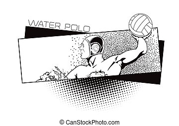 Summer kinds of sports Water polo