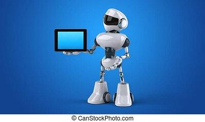Computer animation - Robot