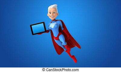 Computer animation - Super woman