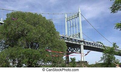 Suspension Bridge and Public Park